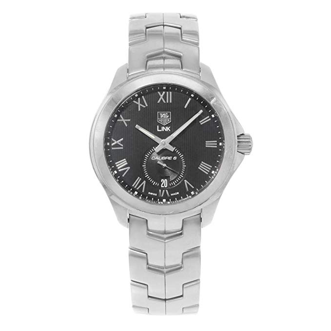 Tag Heuer Link Automatic-self-Wind Male Watch 52204 (Certified Pre-Owned)
