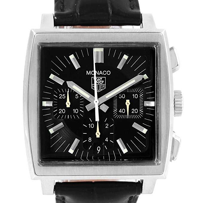 Tag Heuer Monaco automatic-self-wind male Watch CW2111 (Certified Pre-owned)