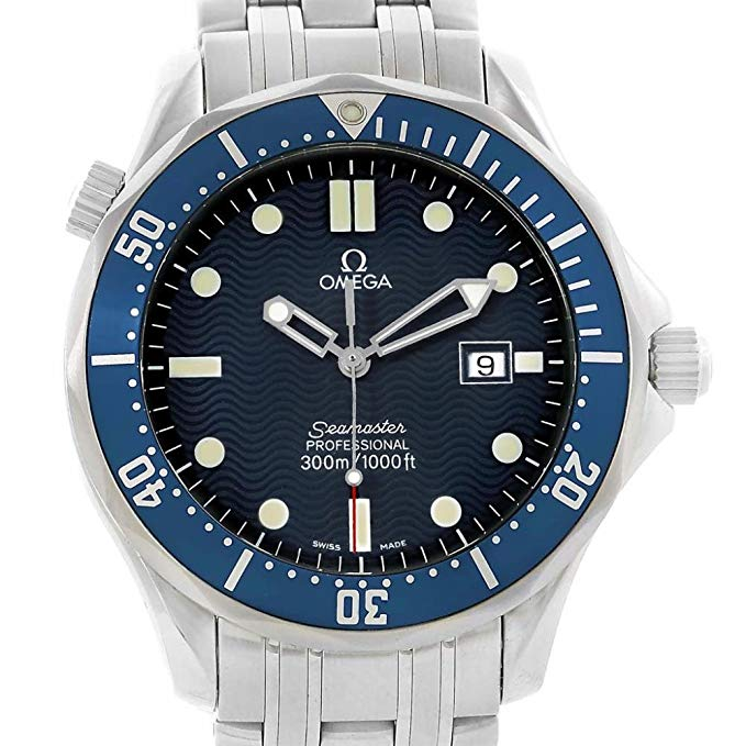 Omega Seamaster Quartz Male Watch 2541.80.00 (Certified Pre-Owned)