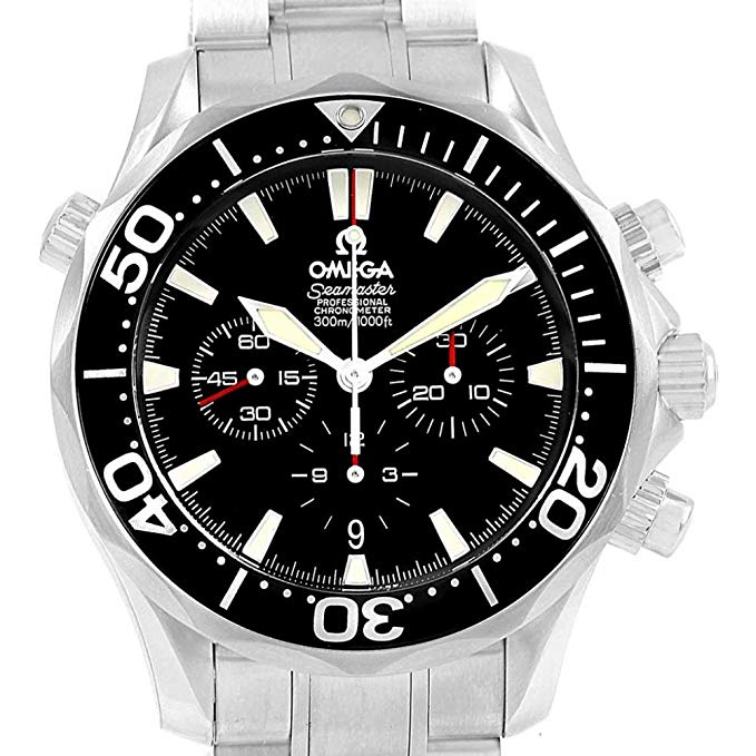 Omega Seamaster Automatic-self-Wind Male Watch 2594.52.00 (Certified Pre-Owned)