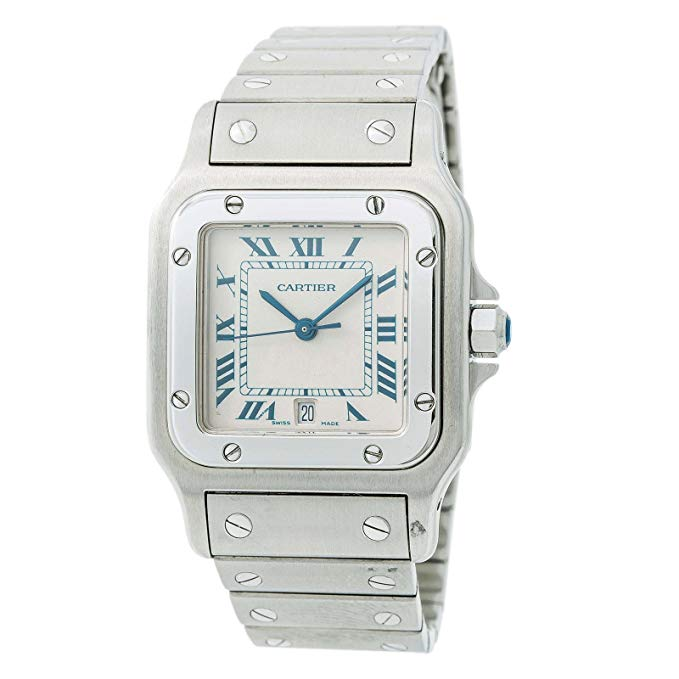Cartier Santos Galbee Quartz Male Watch 1564 (Certified Pre-Owned)
